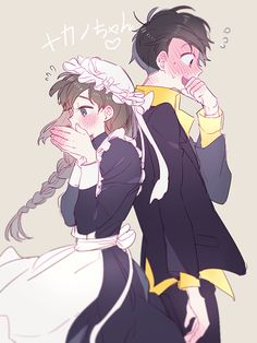 ImageFind images and videos about couple, anime and osomatsu-san on We Heart It - the app to get lost in what you love. Anime Love, Anime Guys, Hetalia, My Hero Academia, Gekkan Shoujo Nozaki Kun, Ichimatsu, Character Design Inspiration, Manga Art, Mafia