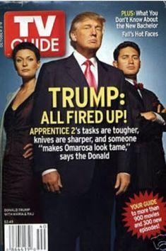 Eva's Travel Diaries: Donald Trump on magazine covers