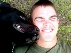When a sniper's bullet struck Pfc. Colton Rusk, the first to reach his body was his best friend Eli – a bomb-sniffing, black Labrador so loyal he snapped at other Marines who rushed to his fallen handler. Rusk succumbed to his wounds December 6. Eli was adopted by Colton Rusk's parents and taken home to South Texas.