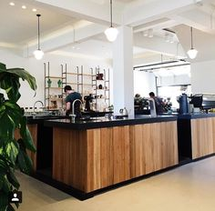 Top 5 best coffee places in Amsterdam Cafe Bar, Cafe Restaurant, Restaurant Design, Cafe Interior Design, Interior Walls, Booth Design, Wall Design, Aesthetic Coffee, Travel Aesthetic