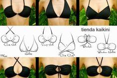 M 36 Diy Trajes de Bano-Bikinis Tutoriales y Trucos - enrHedando