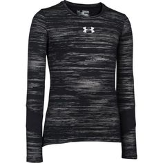 Image for Under Armour® Girls' ColdGear® Long Sleeve Shirt from Academy