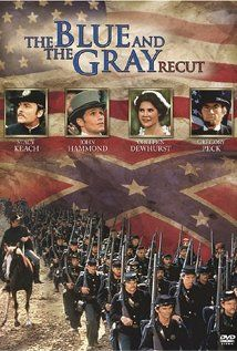 The Blue and the Gray (TV Mini-Series -- my one and only time as an extra -- it was a lot of fun! Our small contribution was filmed at Fort Gibson, Oklahoma. Period Drama Movies, Civil War Movies, Vhs Movie, War Film, American Civil War, American History, Popular Tv Series, Movies Worth Watching, Family Show