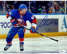 "Steiner Sports New York Islanders Michael Grabner Signed 8"" x 10"" Photo"