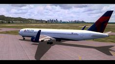 HD FSX-Delta Airlines Honolulu to Los Angeles