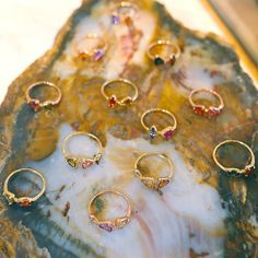 // Gemstone Rings | Dream Collective Studio