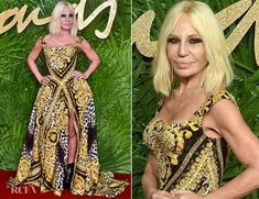 Donatella Versace In Versace – The Fashion Awards 2017