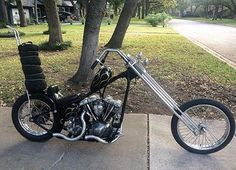 Chopper Inspiration - chopcult: Another killer Shovel owned and... | Choppers and Custom Motorcycles | chopcult October 2016