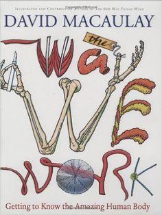 The Way We Work: Getting to Know the Amazing Human Body: David Macaulay: 0046442233781: Amazon.com: Books