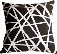 black throw pillows - Google Search