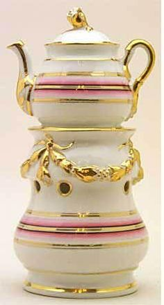 Tea party teapot.  I LOVE the warmer idea!