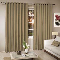 cortina para sala pequena rústica