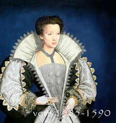 Costume for woman, 1585