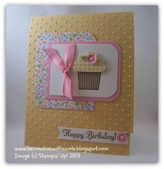 Cupcake Birthday Take Two! by nwt2772 - Cards and Paper Crafts at Splitcoaststampers