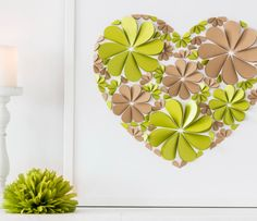 Wedding Guest Book Alternative  3d hearts  Big up to by MioGallery, $190.00