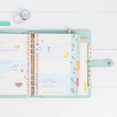Make your kikki.K Planner oh so cute with this gorgeous styling idea