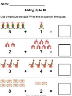 Funsheets on Pinterest | Worksheets, Color By Numbers and Sight Words