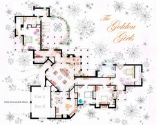 Big Bang, Sheldon and Leonard\'s Apartment from 10 Floor Plans of ...