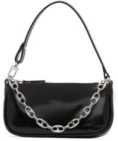 BY FAR Black Mini Rachel Bag Best Purses, Rebecca Minkoff, Style Inspiration, Shoulder Bag, Mini, Bags, Fashion, Handbags, Moda