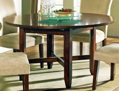"""Steve Silver Company AV720 - Avenue 72"""" Dining Table by Steve Silver Company. $460.00. Nothing can transform your world in as many ways as the Steve Silver Avenue Dining Table The contempory design of the Steve Silver Avenue Dining Table is accentuated by the dark rich cherry finish All this in a Steve Silver AV720 - Avenue 72 Round Dining Table so extraordinary nothing else comes closebrbrstrongFeaturesstrongulliThe Steve Silver Avenue Dining Table is offered in a beaut..."""