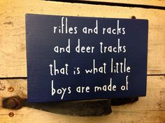 Chunky Wood Block Sign // Baby Boy // Nursery by Studio229 on Etsy, $15.00