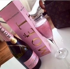 pink champagne   via Tumblr on We Heart It