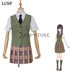 Women's Costumes Open-Minded Anime Charlotte Nao Tomori Cosplay Costume Halloween School Uniform S-xl Custom-made Free Shipping Costumes & Accessories