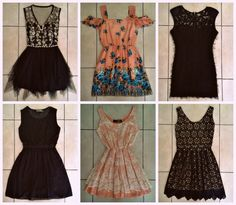 Gorgeous new dresses just in from Mia Couture! <3 R350 - R390