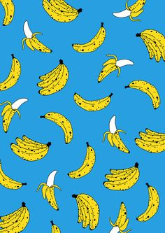Banana Print Art Print