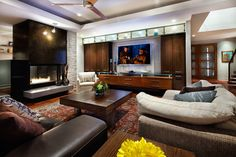 Home Theatre And Media Design And Installation Design Ideas, Pictures, Remodel, and Decor | CG & S Design-Build
