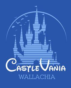 Disney Logo Castlevania