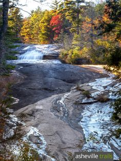 Bridal Veil Falls: top waterfall hikes in North Carolina's beautiful DuPont State Forest