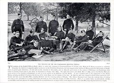 Scottish Rifles, in the 2nd Boer War in 1900
