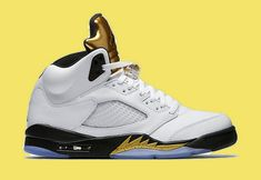 99b1e5d7fb0a Latest Air Jordan 5 Olympic White Black-Metallic Gold 136027-133 -  Mysecretshoes Black