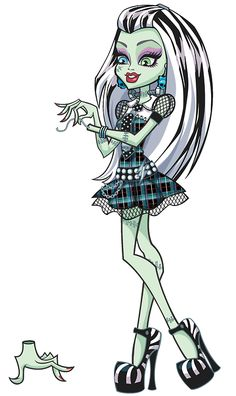 All about Monster High: All about Frankie Stein!