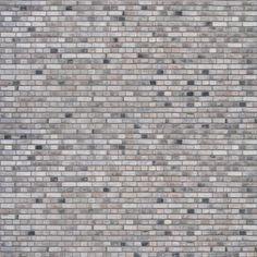 brick texture from henning larsens gymnasium in frederiksberg. coal-fired, waterstruck, grey brick produced by gråsten teglværk, denmark. White Brick Walls, Grey Brick, Brick And Stone, White Stone, Brick Texture, Tiles Texture, Texture Design, Autocad, Brick Material