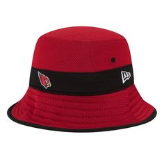 4d5afe4b6 Men s New Era Cardinal Arizona Cardinals Fan Training Camp Reverse Bucket  Hat