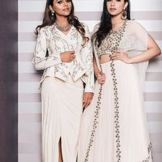 Because power dressing is all about being individualistic. Whether a structured jacket or an embellished Flowy cape - It's the accessories that lend your look the finishing touch 💫⭐️ Accessory details @prerto 👑 On Tina @gauravguptaofficial on Aaliya @ridhimehraofficial at @azafashions #wherefashionmeetsfeminism #powereverything 📸 @karannevatia 💋 @dollyouup_bys #TheImagecodeforPrerto #PrertoxAza #theimagecode #theimagecodeatAza : : : : #necklaces #jewelry #chokers #aboutalook #fashion ...
