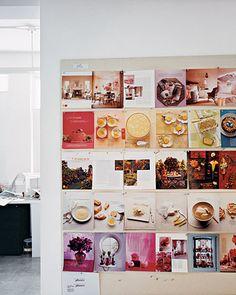 layout critique boards, Martha Stewart Living magazine offices