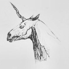 #art #zombie #unicorn #horse #dark art