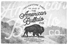 AMERICAN VINTAGE BADGES PART FIVE by Opus NigrumIn this time I incorporated the same badges in the negative version. More easy to apply in dark backgrounds. And 4 Free Mockups with real photos, folk and dirty. For be used in your designs. Create your ow…