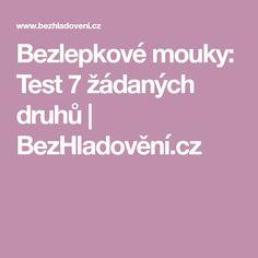 Bezlepkové mouky: Test 7 žádaných druhů   BezHladovění.cz Diet