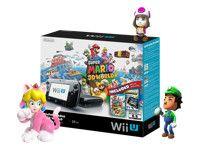 Nintendo Wii U - Super Mario 3D World Deluxe Set - game console - 32 GB flash - black - Nintendo Land, Super Mario 3D World