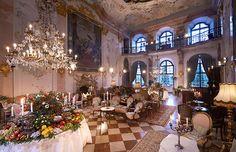 Chanel Pre-Fall 2015 The Métiers d'Art Paris-Salzburg Schloss Leopoldskron, Salzburg