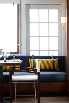 #GauthierStacy #Banquette #Nook #Nautical