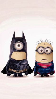 Minion super hero buddies: