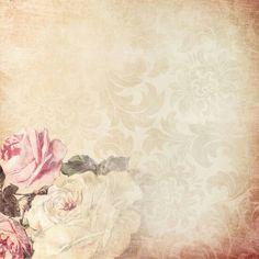 Flores vintage, mis favoritas.