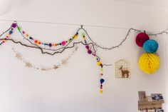 la habitacion de Manuela: Frida + Florentina Honeycomb Decorations, Honeycomb Paper, Max 2015, Lets Celebrate, Kitsch, Tassel Necklace, Garland, Tassels, Label