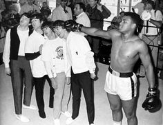 The Beatles and Muhammad Ali  (1964)