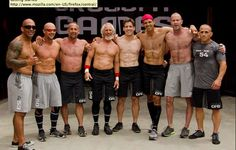 All Crossfit Masters; all 45+ yrs old